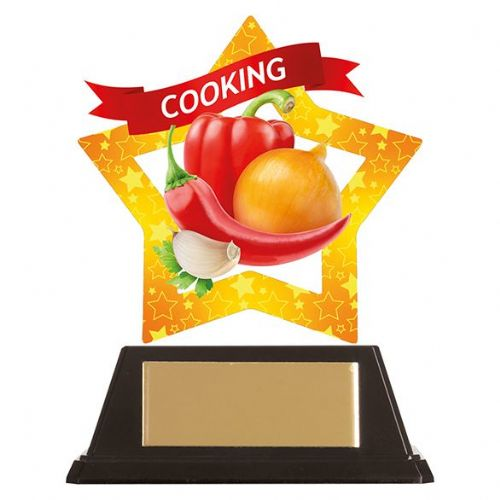 Mini-Star Cooking Acrylic Plaque 100mm